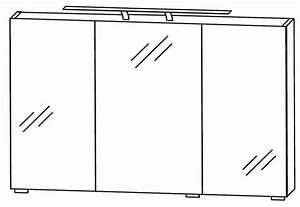 Spiegelschrank 120 Breit : puris fresh spiegelschrank 120 cm breit s2a431267 badm bel 1 ~ A.2002-acura-tl-radio.info Haus und Dekorationen