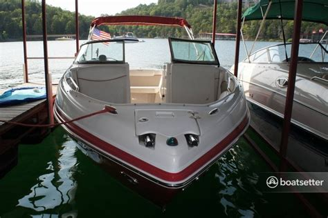 Boat Rental Peoria Il by Rent A Rinker Boats 246 Captiva Bowrider In Peoria Il On