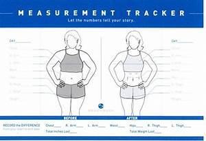 21 Day Fix Chart How To Take Measurements For Weight Loss Taking Your