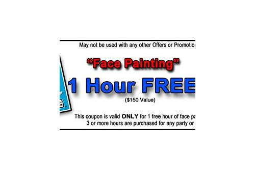 promo code c8d09 d591b the face painting shop coupon code