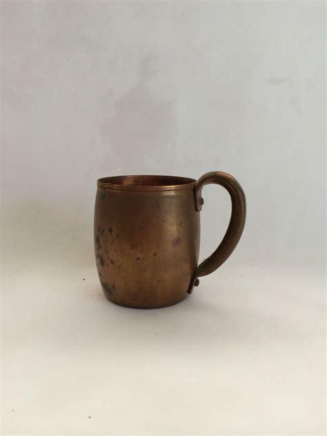 vintage copper mug copper mugs vintage copper copper kitchen decor