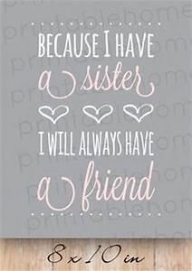 i love my siste... Mom N Sis Quotes