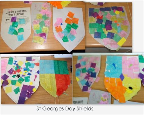 st george preschool craft make your own coat of arms for yourself and family 260