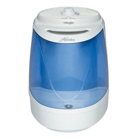 cool mist humidifier and ceiling fan hunter 33119 microban soothing cool mist medium room