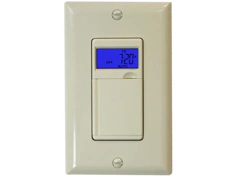ivory light timer switch 24 hour 7 day programmable set