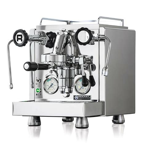 Dual independently operated pid controlled boilers allowing for optimum extraction of any coffee type or roast style. Rocket R58 Espresso Machine   Cape Coffee Beans
