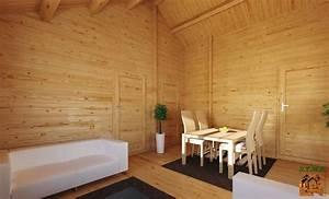 Chalet En Bois Habitable Livré Monté : chalet en kit haut de gamme harfleur avec terrasse couverte ~ Dailycaller-alerts.com Idées de Décoration