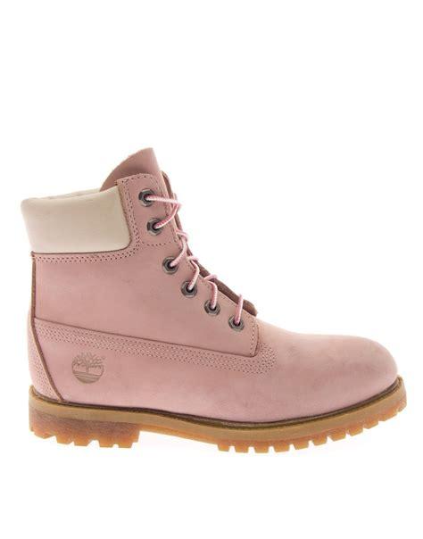 light pink timberlands timberland veterlaars boot light pink