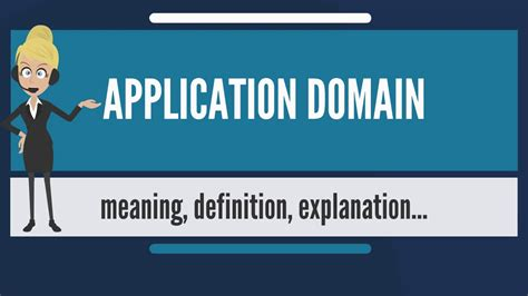 What Does Firm On A Application by What Is Application Domain What Does Application Domain