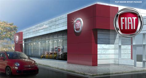 California Fiat Dealers by Fiat Usa Dealership Rendering
