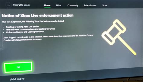 year olds xbox account  suspended  fraud