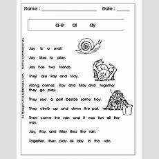 Phonics  Free Printables  Vowel Teams, Long A, Long E, Long I, Long O, Long U Reading