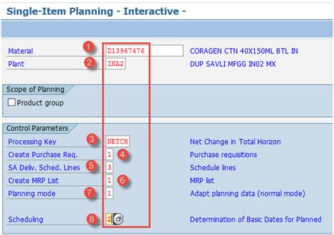 sap mrp material requirement planning tutorial md