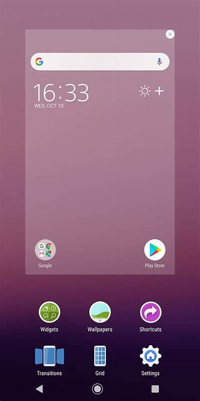 Screen Xz3 Xperia Sony Customize Settings Change
