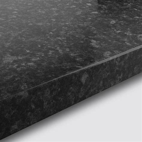 mm kabsa gloss black granite effect laminate post formed
