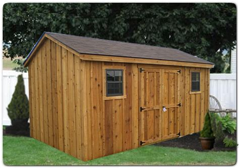 White Cedar Shed by West Virginia Pine Sheds