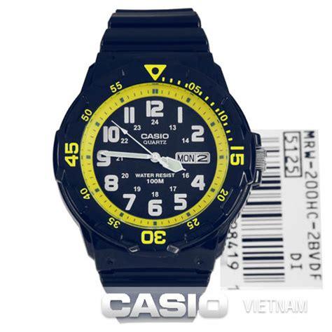 Casio Mrw S310h 2bvdf Casio đồng hồ casio mrw 200hc 2bvdf d 226 y đeo bằng nhựa mặt số