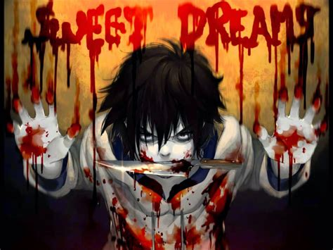 Sweet Anime Wallpaper - jeff the killer sweet dreams anime wallpaper 1440x1080