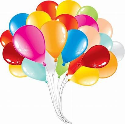 Balloons Balloon Clip Birthday Clipart Ballons Transparent