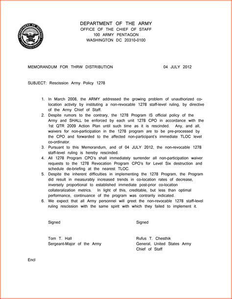 army memo template 13 exle army memorandum sweep18