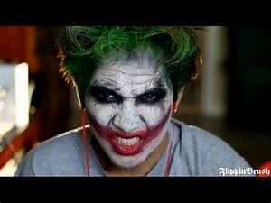 Halloween: The Joker - Dark Knight (Heath Ledger) Makeup ...