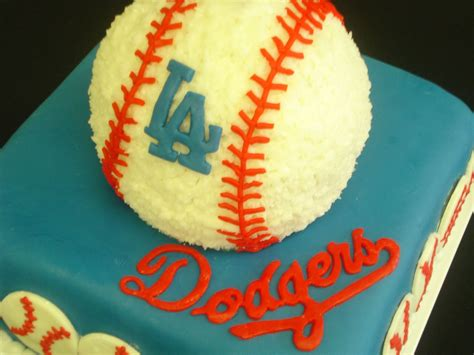 dodgers fun st birthday cake    dig