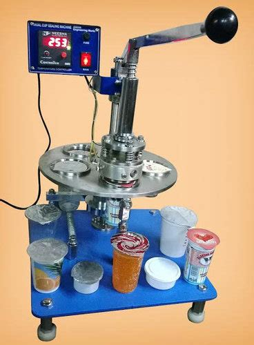 rotary cup sealing machine  rs piece cup sealing machine id