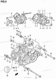 Suzuki Atv 1999 Oem Parts Diagram For Crankcase