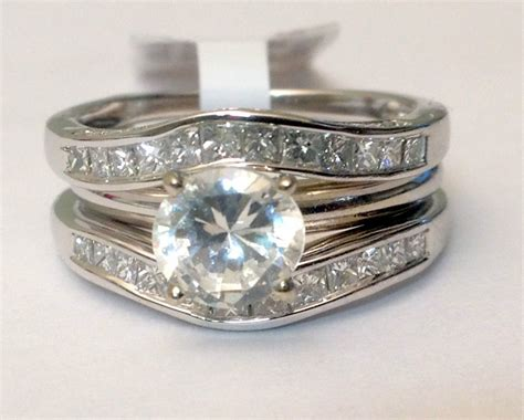 Solitaire Enhancer Diamonds Ring Guard Wrap 14k White Gold. Elongated Rings. Gold Scottish Wedding Rings. Worth Engagement Rings. Saphire Engagement Rings. White Plastic Rings. Background Rings. Mystery Rings. Four Stone Engagement Rings