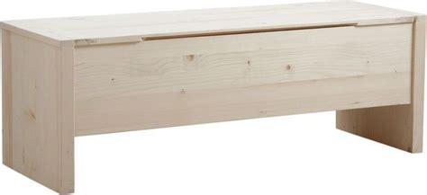 coffre de rangement en bois brut