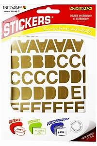 Lettres Adhésives Extérieur : pochette lettres adh sives or lettrage et numerotation ~ Farleysfitness.com Idées de Décoration