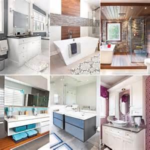 les tendances salles de bain 2016 en 24 d 233 cors trucs et conseils d 233 coration et r 233 novation