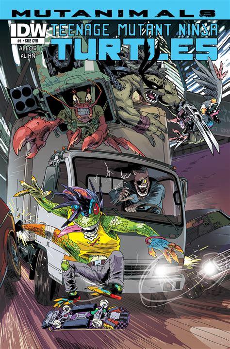teenage mutant ninja turtles mutanimals  idw publishing