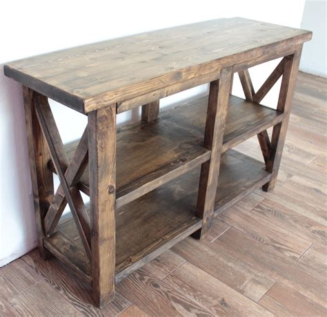 rustic entryway table white rustic entryway table diy projects