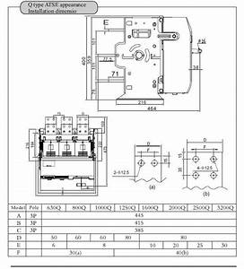 3200a Generator Automatic Transfer Switch Ats   View Ats  Yuye Product Details From One Two