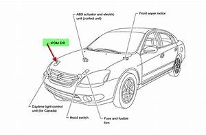 2002 Nissan Altima 3 5 Se A  C Relay Switch Location