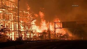 Downtown Los Angeles fire: Federal agents join arson ...