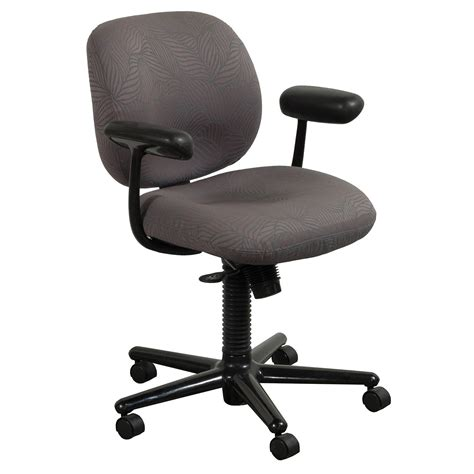 herman miller ergon used mid back task chair gray leaf