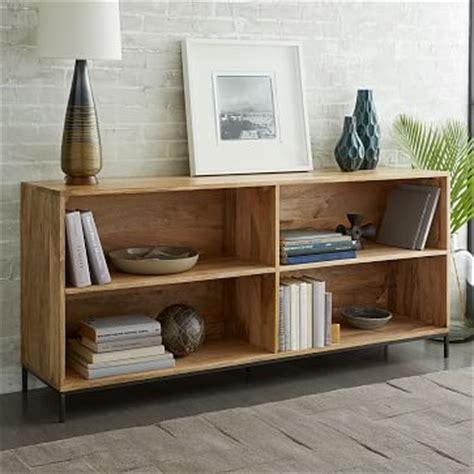 Industrial Modular Bookcase   west elm