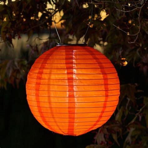 soji solar lanterns soji solar lantern orange gardenfun 2399