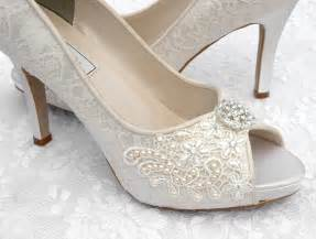 wedding shoes for brides craftsfrenzy bridal shoes lace