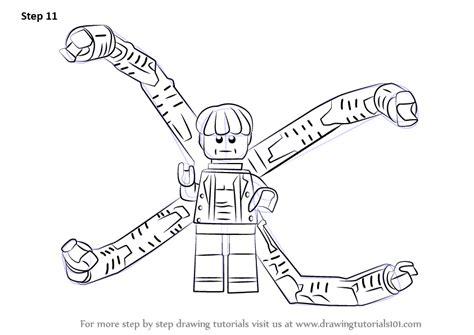 step  step   draw lego  ock drawingtutorialscom