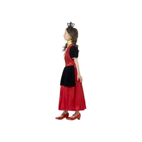 deguisement reine de coeur d 233 guisement reine de coeur pour enfant
