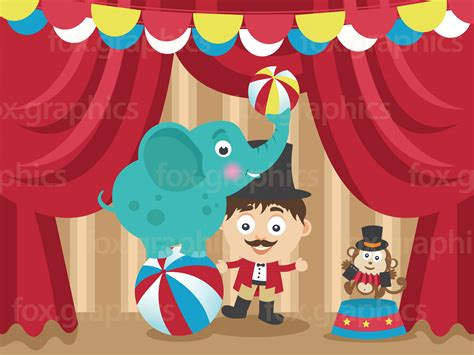 Ball Chain Curtains by Cartoon Circus Illustration Fox Graphics