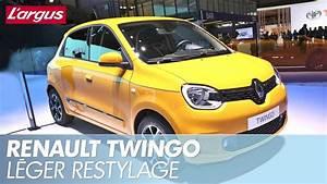 La Renault Twingo Restyl U00e9e D U00e9voil U00e9e Au Salon De Gen U00e8ve 2019