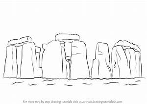 Learn How to Draw Stonehenge (World Heritage Sites) Step ...
