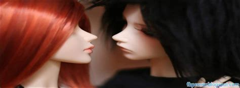 Cute Doll Couple Feelings Love Facebook Cover Fb Timeline Fbpcover Fbpcover Blogspot Com