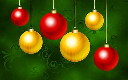 Ornaments Christmas Wallpapers Background Holiday