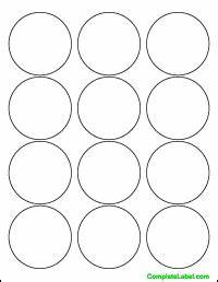 25quot circular labels item dt 350 similar to avery With avery 2 5 inch round labels template