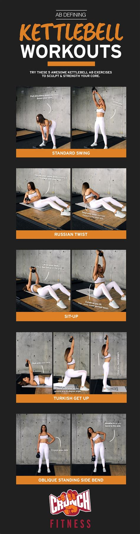 ab exercises kettlebell core crunch awesome fitness strengthen session friendly started touch staff members